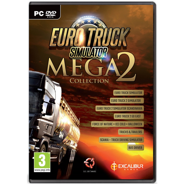 Euro Truck Mega Colletion 2 PC
