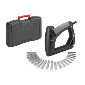 Capsator electric SKIL F0158200AC+ geanta transport, 20 percutii, negru