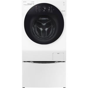 Masina de spalat rufe cu uscator LG F6WD148TWIN, TwinWash, TrueSteam, Wi-Fi, 12/8kg + 2kg miniwash, A, alb