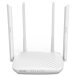 Router Wireless TENDA F9, 600 Mbps, LAN, WAN, alb