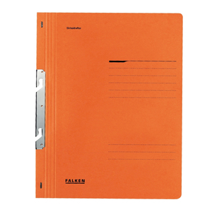 Dosar incopciat FALKEN, 1/1, A4, carton, portocaliu