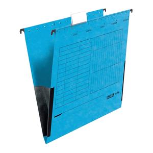 Dosar suspendabil FALKEN, A4, carton, 25 bucati, albastru