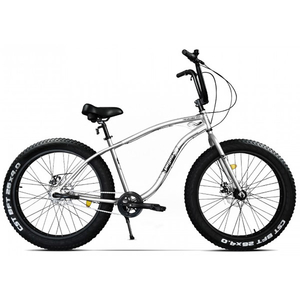 Bicicleta Fat Bike PEGAS Cutezator Ev 3S, Alb-Perlat