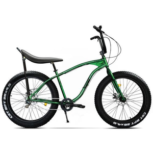 Bicicleta Fat Bike PEGAS Cutezator Ev Banana 7S, verde