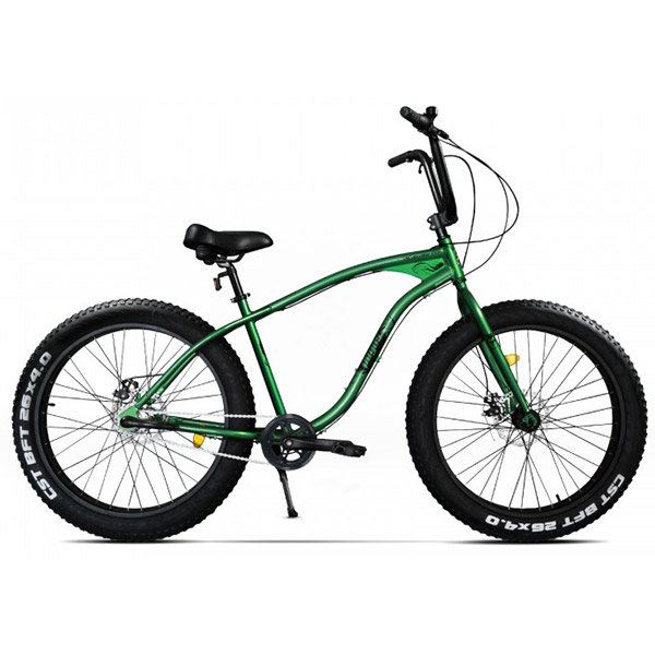 Bicicleta Fat Bike PEGAS Cutezator Ev 3S, Verde-Smarald