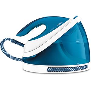 Statie de calcat PHILIPS GC7054/20 PerfectCare Viva, 2l, 320 g/min, 2400 W, talpa SteamGlide Plus, alb - albastru
