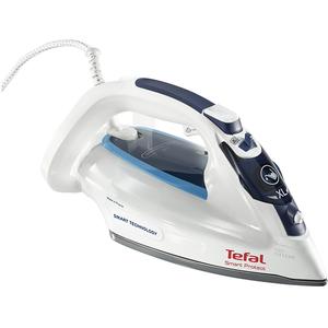 Fier de calcat TEFAL Ultragliss Smart Protect FV4980E0, 270ml, 180g/min, 2600W, talpa Durilium, alb - albastru