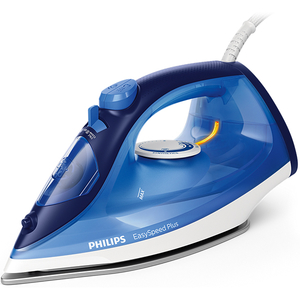 Fier de calcat PHILIPS EasySpeed Plus GC2145/20, 2100W, 110g/min, 270ml, talpa ceramica, bleu