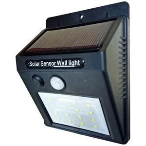 Lampa solara cu senzor de miscare FLINK FK-JY1601-16, 2 lumeni, IP65, negru