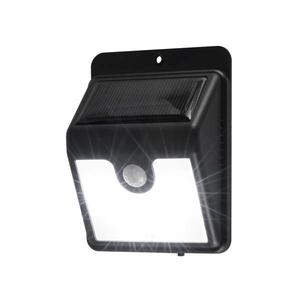 Lampa solara cu senzor de miscare HOME FLP 1SOLAR, 0.8W, 35 lumeni, negru