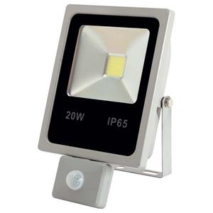 Proiector LED cu senzor de miscare HOME FLP 20 LED/G, 20W, 1700 lumeni, gri