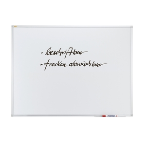 Tabla magnetica FRANKEN X-line, 100 x 150 cm, alb