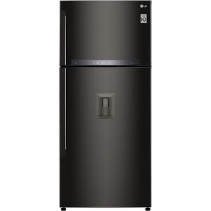 Frigider cu 2 usi LG GTF744BLPZD, 509 l, 180 cm, A++, negru