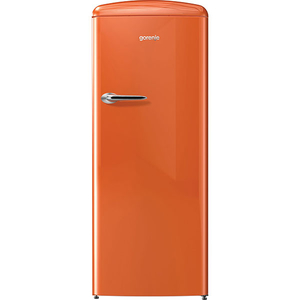 Frigider cu 1 usa GORENJE ORB152O, 254 l, 154 cm, A++, portocaliu