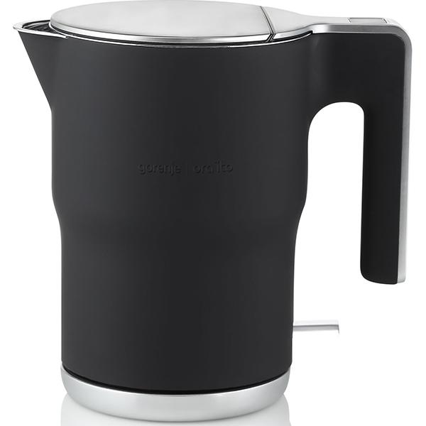 Fierbator apa GORENJE K15ORAB, 1.5l, 2400W, negru-argintiu