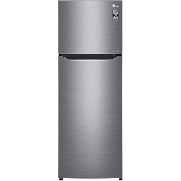 Frigider cu 2 usi LG GTB523PZCZD, 312 l, 169 cm, A++, argintiu