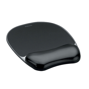 Mouse Pad FELLOWES Crystal FWS0021, negru