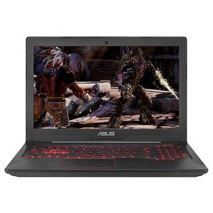 "Laptop Gaming ASUS FX503VD-E4082, Intel® Core™ i5-7300HQ pana la 3.5GHz, 15.6"" Full HD, 8GB, 1TB + 8GB cache, NVIDIA GeForce GTX 1050 4GB, Free Dos"