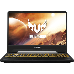 "Laptop Gaming ASUS TUF FX505DD-AL062, AMD Ryzen 5-3550H pana la 3.7GHz, 15.6"" Full HD, 8GB, SSD 512GB, NVIDIA GeForce GTX 1050 3GB, Free Dos, Stealth Black"
