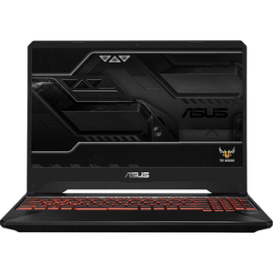 "Laptop Gaming ASUS TUF FX505GE-BQ115, Intel® Core™ i5-8300H pana la 4.0GHz, 15.6"" Full HD, 8GB, HDD 1TB + SSD 128GB, NVIDIA GeForce GTX 1050 Ti 4GB, Free Dos"