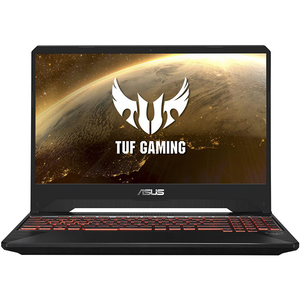 "Laptop Gaming ASUS TUF FX505DY-BQ001, AMD Ryzen™ 5-3550H pana la 3.7GHz, 15.6"" Full HD, 8GB, SSD 128GB + HDD 1TB, AMD Radeon RX 560X 4GB, Free Dos"