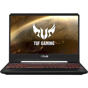 "Laptop Gaming ASUS TUF FX505DY-BQ001, AMD Ryzen™ 5-3550H pana la 3.7GHz, 15.6"" Full HD, 8GB, HDD 1TB + SSD 128GB, AMD Radeon RX 560X 4GB, Free Dos"
