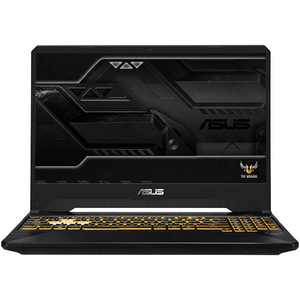"Laptop Gaming ASUS TUF FX505GE-BQ127, Intel® Core™ i7-8750H pana la 4.1GHz, 15.6"" Full HD, 8GB, SSD 256GB, NVIDIA GeForce GTX 1050 Ti 4GB, Free Dos"