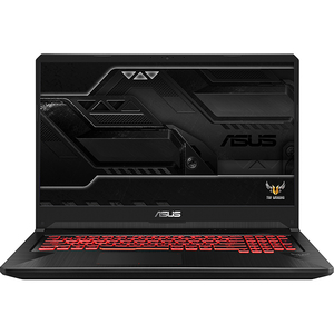 "Laptop Gaming ASUS TUF FX705GM-EV056, Intel® Core™ i7-8750H pana la 4.1GHz, 17.3"" Full HD, 8GB, SSHD 1TB, NVIDIA GeForce GTX 1060 6GB, Free Dos"