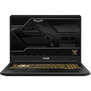 "Laptop Gaming ASUS TUF FX705GE-EW142, Intel Core i7-8750H pana la 4.1GHz, 17.3"" Full HD, 16GB, SSHD 1TB, NVIDIA GeForce GTX 1050 Ti 4GB, Free Dos, Gun Metal"