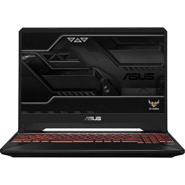 "Laptop Gaming ASUS TUF FX505GM-BQ393, Intel® Core™ i7-8750H pana la 4.1GHz, 15.6"" Full HD, 8GB, 1TB + SSD 128GB, NVIDIA GeForce GTX 1060 6GB, Free Dos"