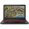 "Laptop Gaming ASUS FX504GE-EN614, Intel Core i5-8300H pana la 4.0GHz, 15.6"" Full HD, 8GB, HDD 1TB + SSD 256GB, NVIDIA GeForce GTX 1050 Ti 4GB, Free Dos, Metal Gun"