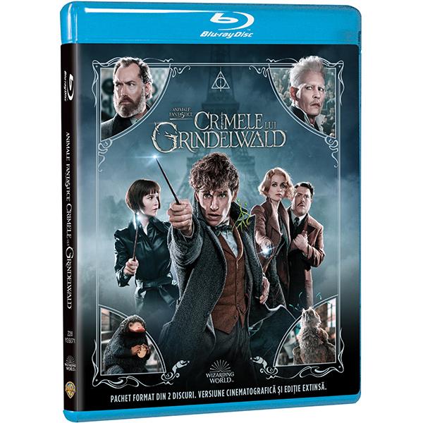 Animale Fantastice: Crimele lui Grindelwald Editie extinsa Blu-ray