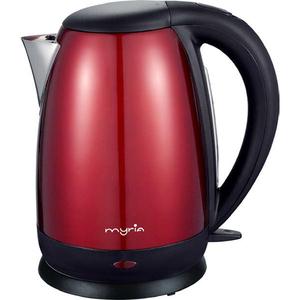 Fierbator de apa MYRIA MY4103RD, 1.7 l, 2200 W, rosu - negru