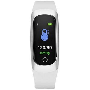 Bratara fitness MAXCOM FitGo FW12 Oxygen, Android/iOS, argintiu
