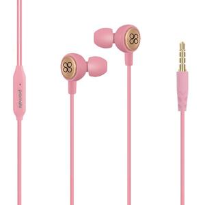 Casti PROMATE Flano, Cu Fir, In-ear, Microfon, roz