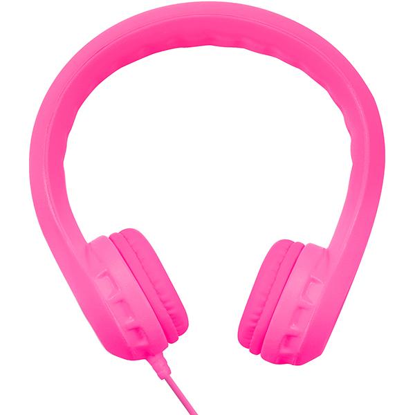 Casti pentru copii PROMATE Flexure, Cu Fir, On-Ear, roz