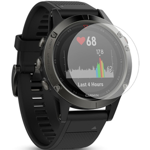 Folie protectie pentru Garmin Fenix 5X, SMART PROTECTION, display, 2 folii incluse, polimer, transparent