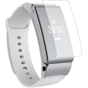 Folie protectie pentru Huawei Talkband B2, SMART PROTECTION, display, 2 folii incluse, polimer, transparent