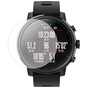 Folie protectie pentru Xiaomi Amazfit Pace 2 Stratos, SMART PROTECTION, display, 2 folii incluse, polimer, transparent