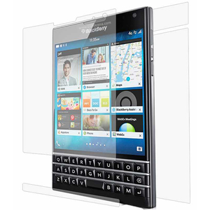 Folie protectie pentru Blackberry Passport, SMART PROTECTION, fullbody, polimer, transparent