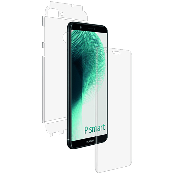 Folie protectie pentru Huawei P Smart, SMART PROTECTION, fullbody, polimer, transparent
