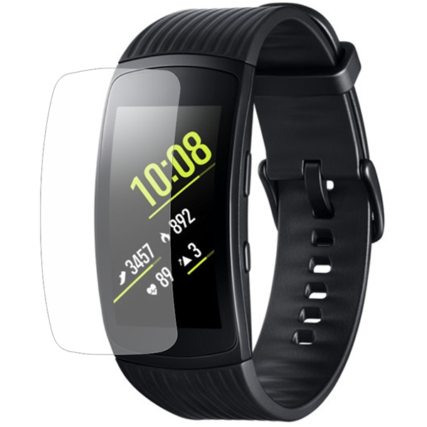 Folie protectie pentru Samsung Gear Fit 2 Pro, SMART PROTECTION, display, 2 folii incluse, polimer, transparent