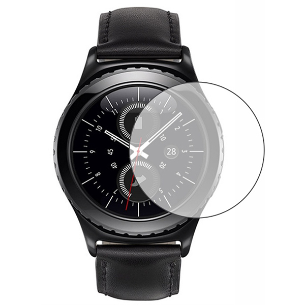 Folie protectie pentru Samsung Gear S2, SMART PROTECTION, display, 2 folii incluse, polimer, transparent