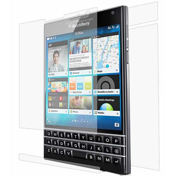 Folie protectie pentru Blackberry Passport, SMART PROTECTION, fullbody, polimer, transparent