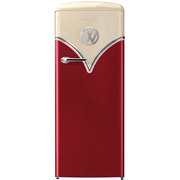Frigider cu 1 usa GORENJE OBRB153R, 254 l, 154 cm, A+++, rosu