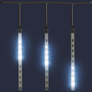 Decoratiune de Craciun cu LED HOME G 550, decor sloi de gheata, 1.6m, 230v