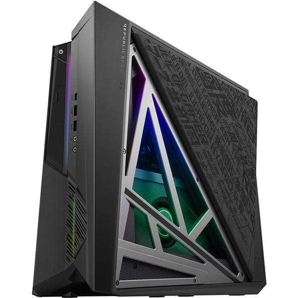 Sistem Desktop Gaming ASUS ROG Huracan G21CX-RO003D, Intel Core i7-9700K pana la 4.9GHz, 8GB, 1TB + SSD 256GB, NVIDIA GeForce RTX 2060 6GB, Free DOS