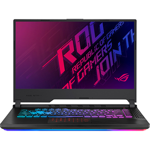 "Laptop Gaming ASUS ROG Strix G531GU-AL110, Intel Core i7-9750H pana la 4.5GHz, 15.6"" Full HD, 8GB, SSD 256GB, NVIDIA GeForce GTX 1660 Ti 6GB, Free Dos, Negru"