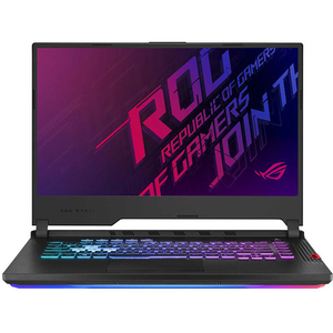 "Laptop Gaming ASUS ROG Strix G G531GV-AL027, Intel Core i7-9750H pana la 4.5GHz, 15.6"" Full HD, 16GB, SSD 512GB, NVIDIA GeForce RTX 2060 6GB, Free Dos, Negru"