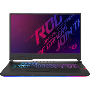 "Laptop Gaming ASUS ROG Strix Scar III G731GW-H6222, Intel Core i7-9750H pana la 4.5GHz, 17.3"" Full HD, 16GB, SSD 512GB, NVIDIA GeForce RTX 2070 8GB, Free Dos, Gunmetal"